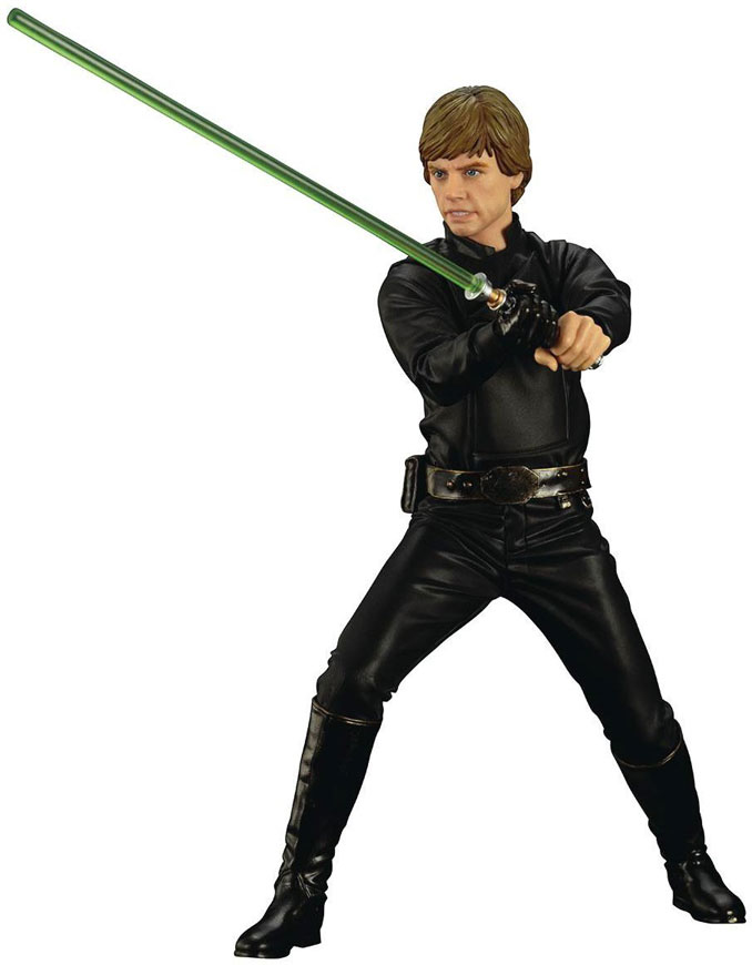 Star Wars Return of the Jedi Luke Skywalker ArtFX+ Statue