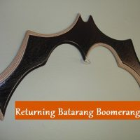 Returning Batarang Boomerang