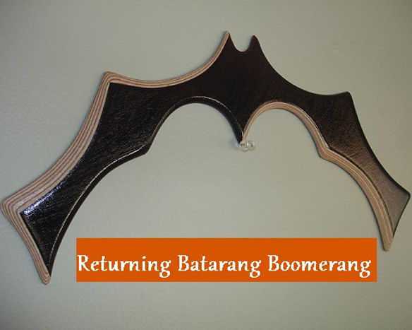 Returning Batarang Boomerang