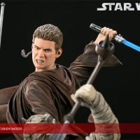 Revenge of the Jedi Anakin Skywalker VS Tusken Raiders Diorama