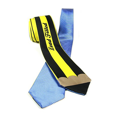 Reversible Tie Blue-Pencil