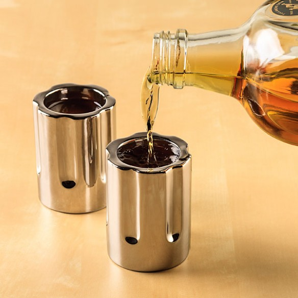 Revolver Shot Glasses 2 Pack