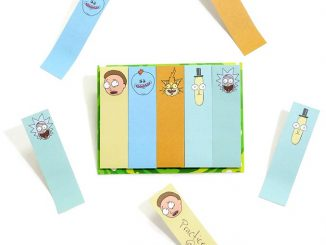 Rick And Morty Memo Tab Stickies