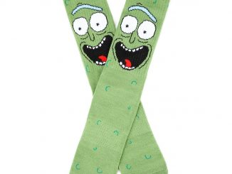Rick And Morty Pickle Rick Crew Socks