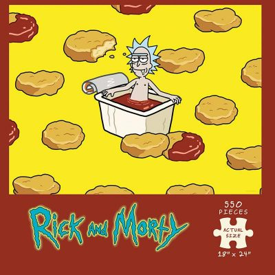 Rick And Morty Szechuan Hot Tub Puzzle Box