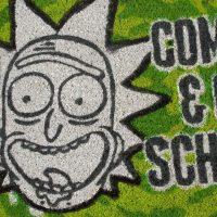 Rick Get Schwifty Doormat