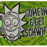 Rick Morty Come In Get Schwifty Doormat
