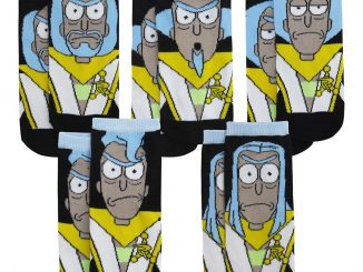 Rick & Morty Council of Ricks Low-Cut Socks