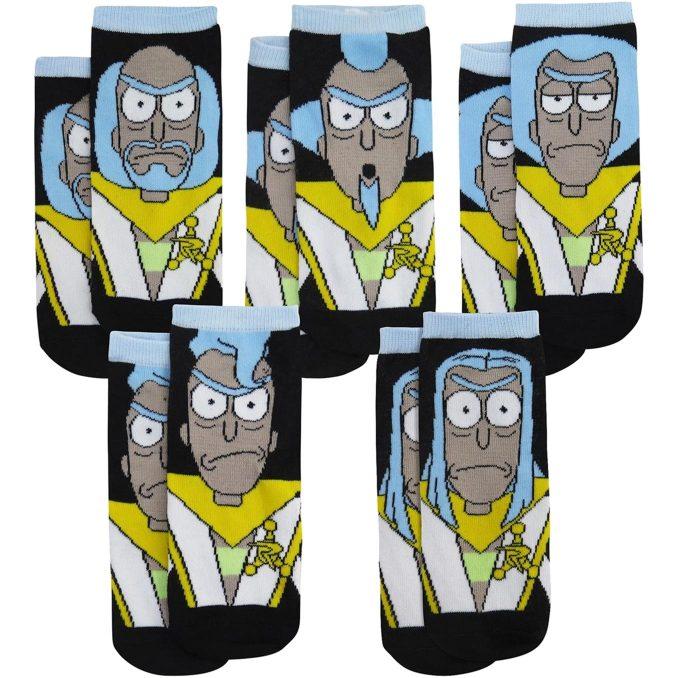 Rick & Morty Council of Ricks Low-Cut Socks