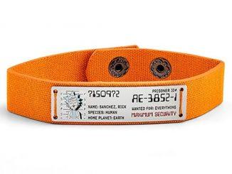 Rick And Morty Prisoner ID Bracelet