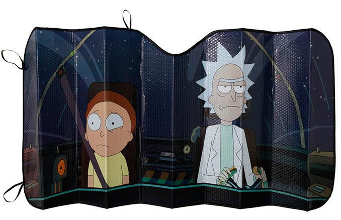 Rick & Morty Windshield Sunshade