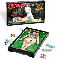 Rick and Morty Anatomy Park Special Edition Operation Board Game