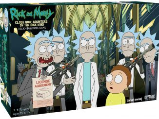 Rick and Morty Close Rick-Counters of the Rick-Kind Game