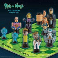 Rick and Morty Collector Chess