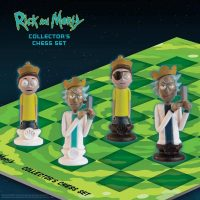 Rick and Morty Collector Chess Set