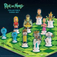 Rick and Morty Collectors Chess