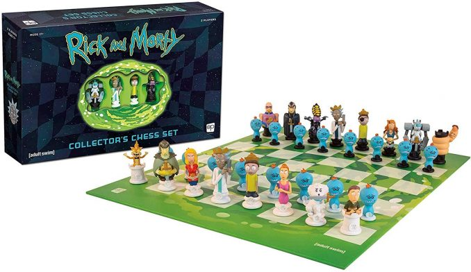 Rick and Morty Collectors Chess Set