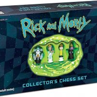 Rick and Morty Collectors Chess Set Box