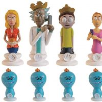 Rick and Morty Collectors Chess Set White Pieces