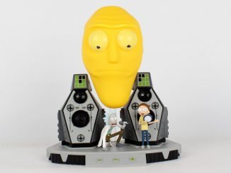 Rick and Morty Get Shwifty Bluetooth Speaker