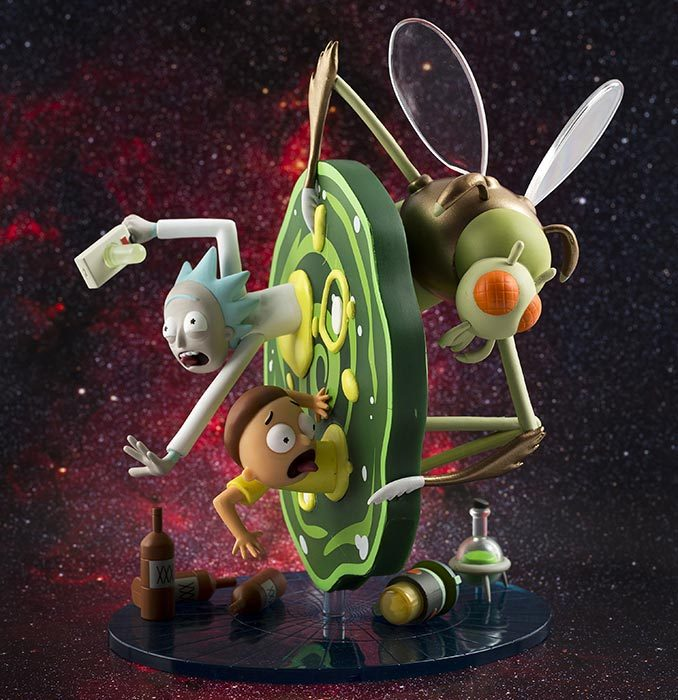 Kidrobot Rick and Morty Medium Figure