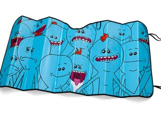 Rick and Morty Meeseeks Car Sunshade