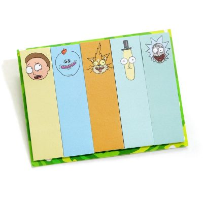 Rick and Morty Memo Sitcky Tabs
