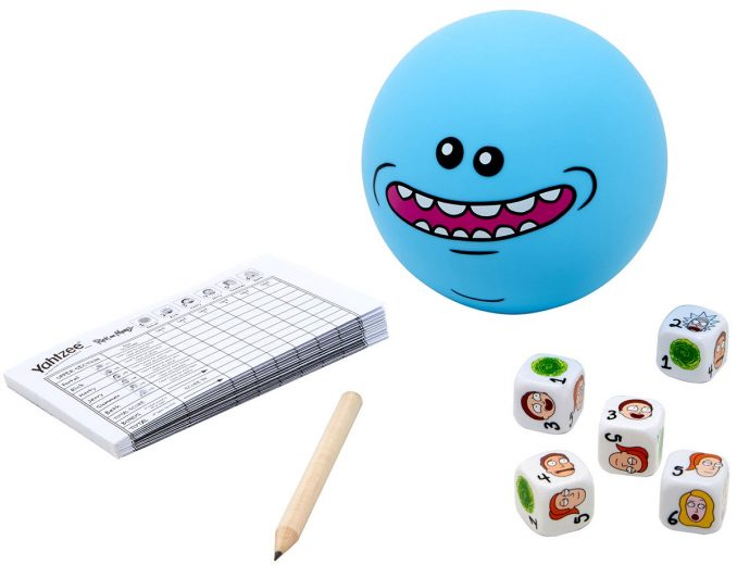 Rick and Morty Mr Meeseeks Edition Yahtzee Game