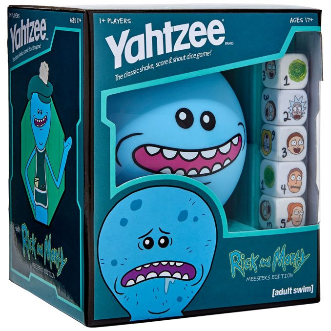 Rick and Morty Mr. Meeseeks Yahtzee