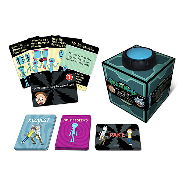 Rick and Morty Mr. Meeseeks Box O Fun