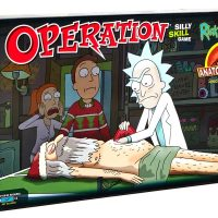 Rick and Morty Operation Anatomy Park Special Edition Board Game
