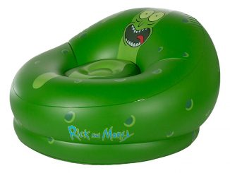 Rick and Morty Pickle Rick Inflatable Chair