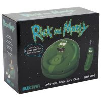 Rick and Morty Pickle Rick Inflatable Chair Box