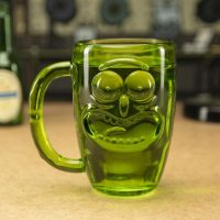 Rick and Morty Pickle Rick Stein Glass
