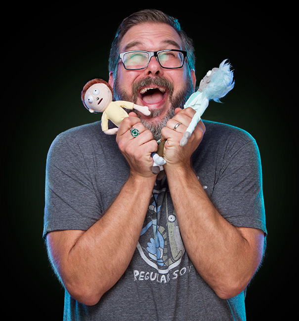 Rick and Morty Plushes