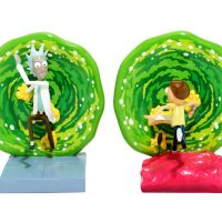 Rick and Morty Portal Bookends Front