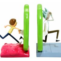 Rick and Morty Portal Bookends Side