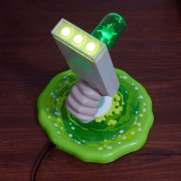 Rick and Morty Portal Gun Desk Lamp