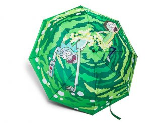Rick and Morty Portal Umbrella