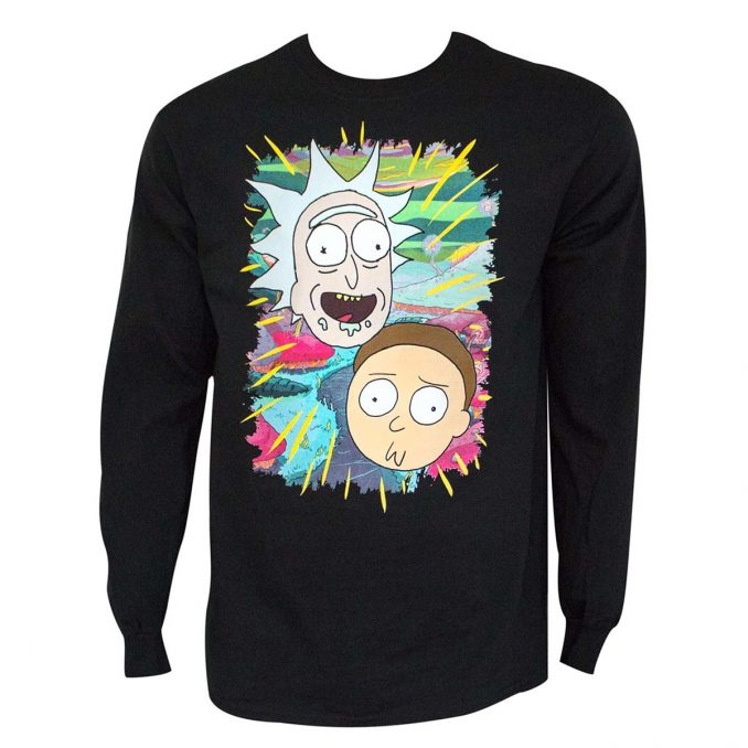 Rick and Morty Portraits Long Sleeve T-Shirt