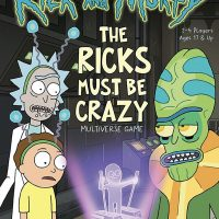Rick and Morty Ricks Must Be Crazy Multiverse Game Box
