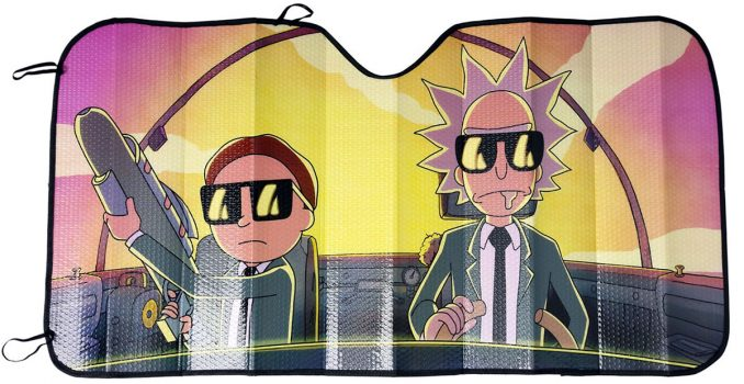Rick and Morty Run The Jewels Sunshade