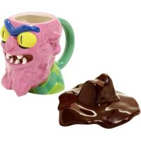 Rick and Morty Scary Terry Figural Mug Open