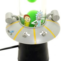 Rick and Morty Space Cruiser Motion Lamp Detail