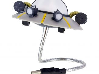 Rick and Morty Space Cruiser USB Light