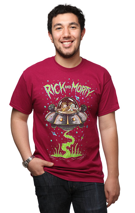 Rick and Morty Spaceship Tee