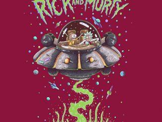 Rick and Morty Spaceship Tee