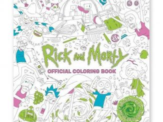 Rick and Morty The Coloring Book