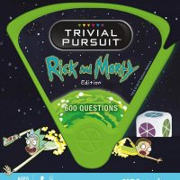 Rick and Morty Trivial Pursuit Box
