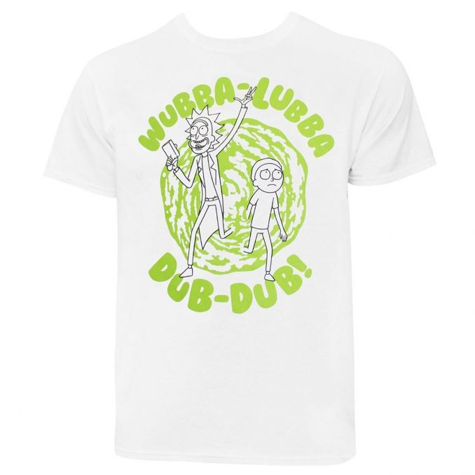 Rick and Morty Wubba-Lubba Dub-Dub T-Shirt